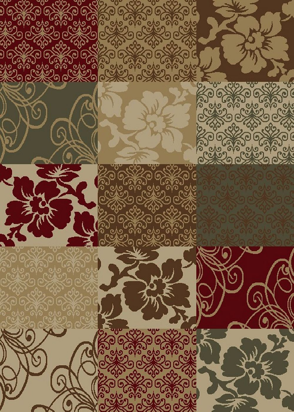 mayberry city contemporary area rug collection