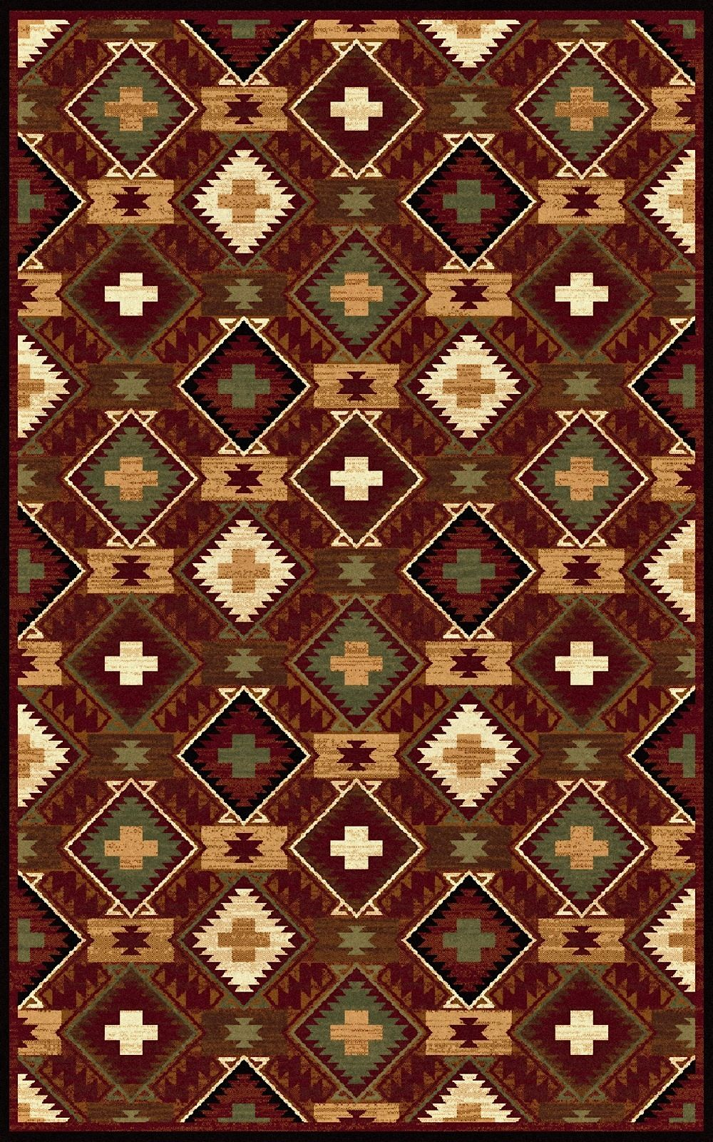 surya duetto southwestern/lodge area rug collection