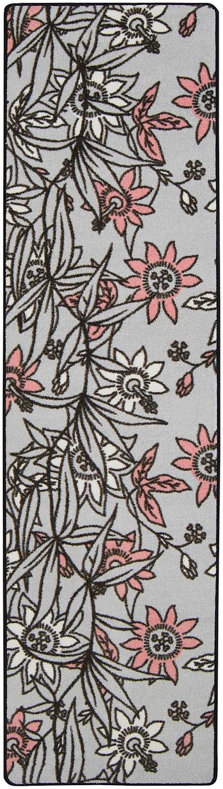 surya flirty country & floral area rug collection