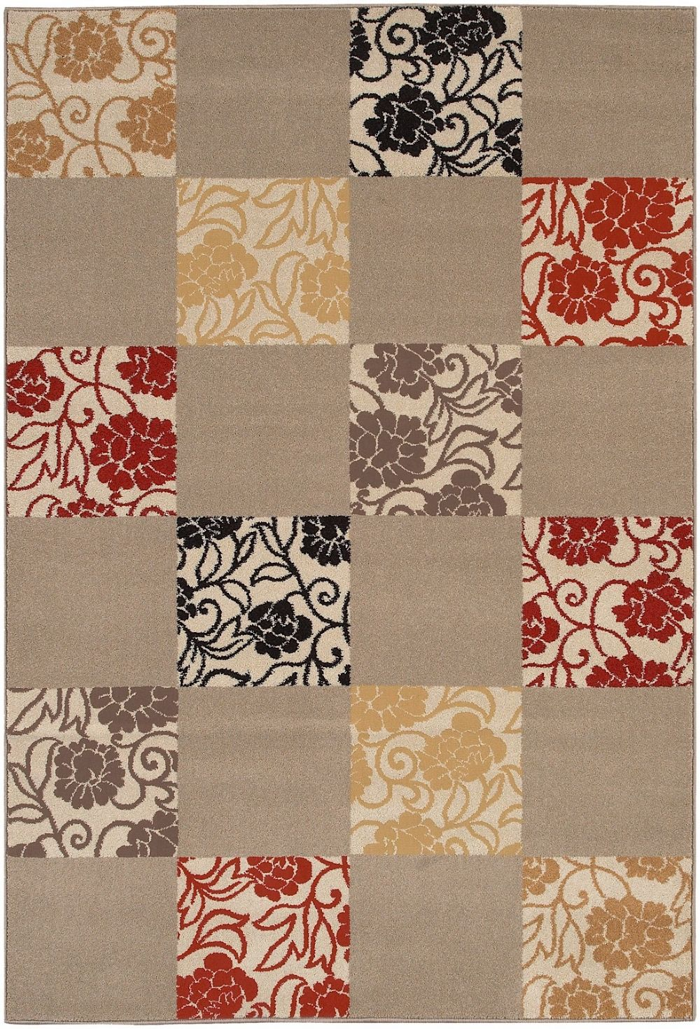 surya rustica country & floral area rug collection