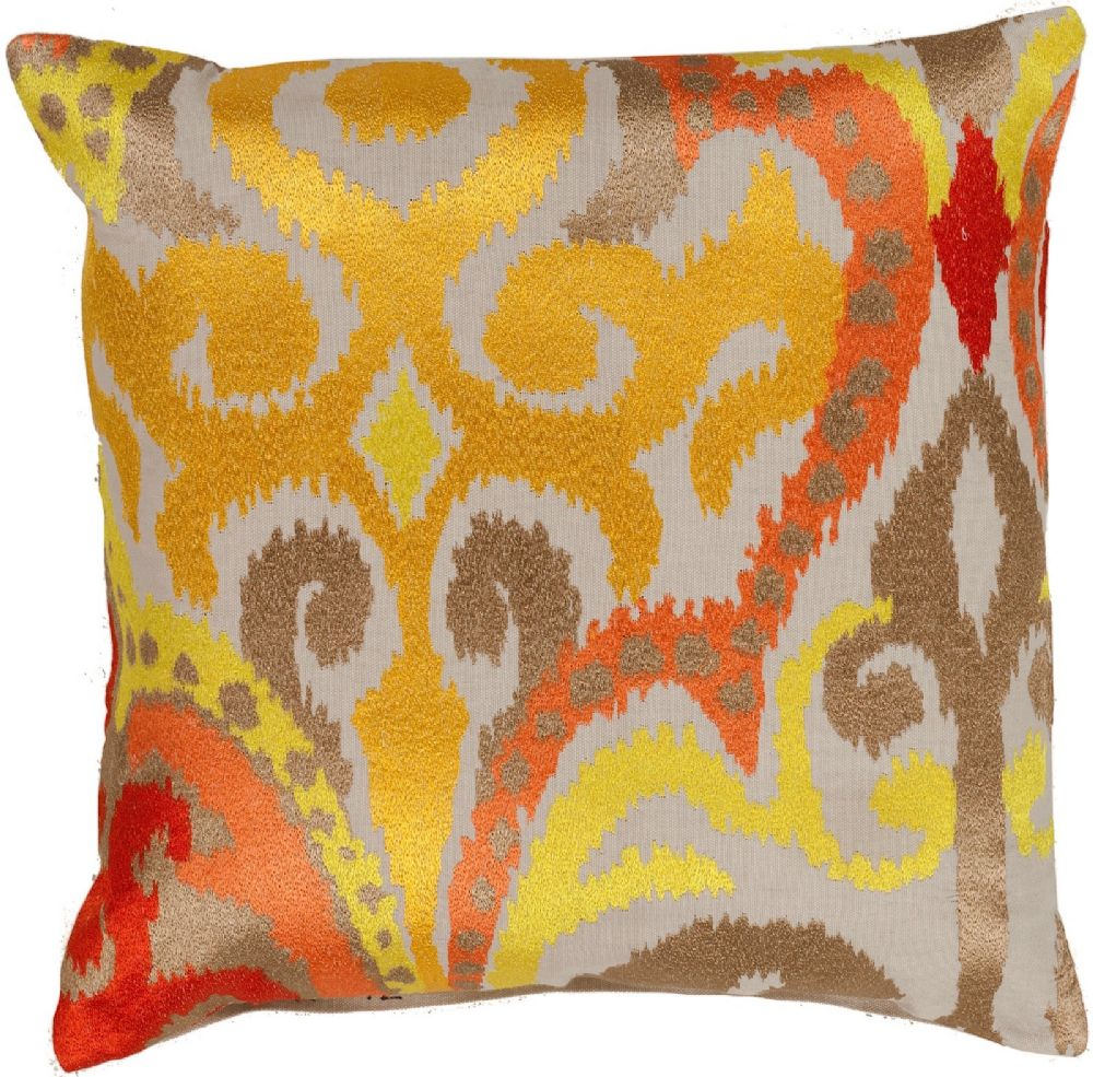 surya ara contemporary decorative pillow collection