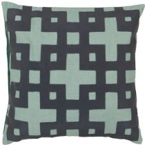 Surya Contemporary Layered Blocks pillow Collection