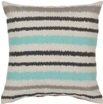 Surya Contemporary Ikat Stripe pillow Collection