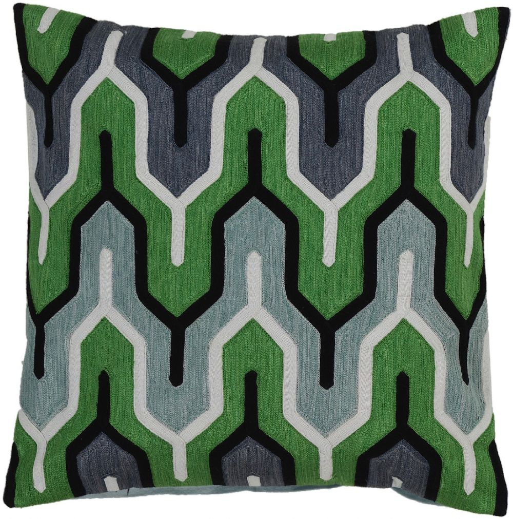 surya aztec contemporary decorative pillow collection
