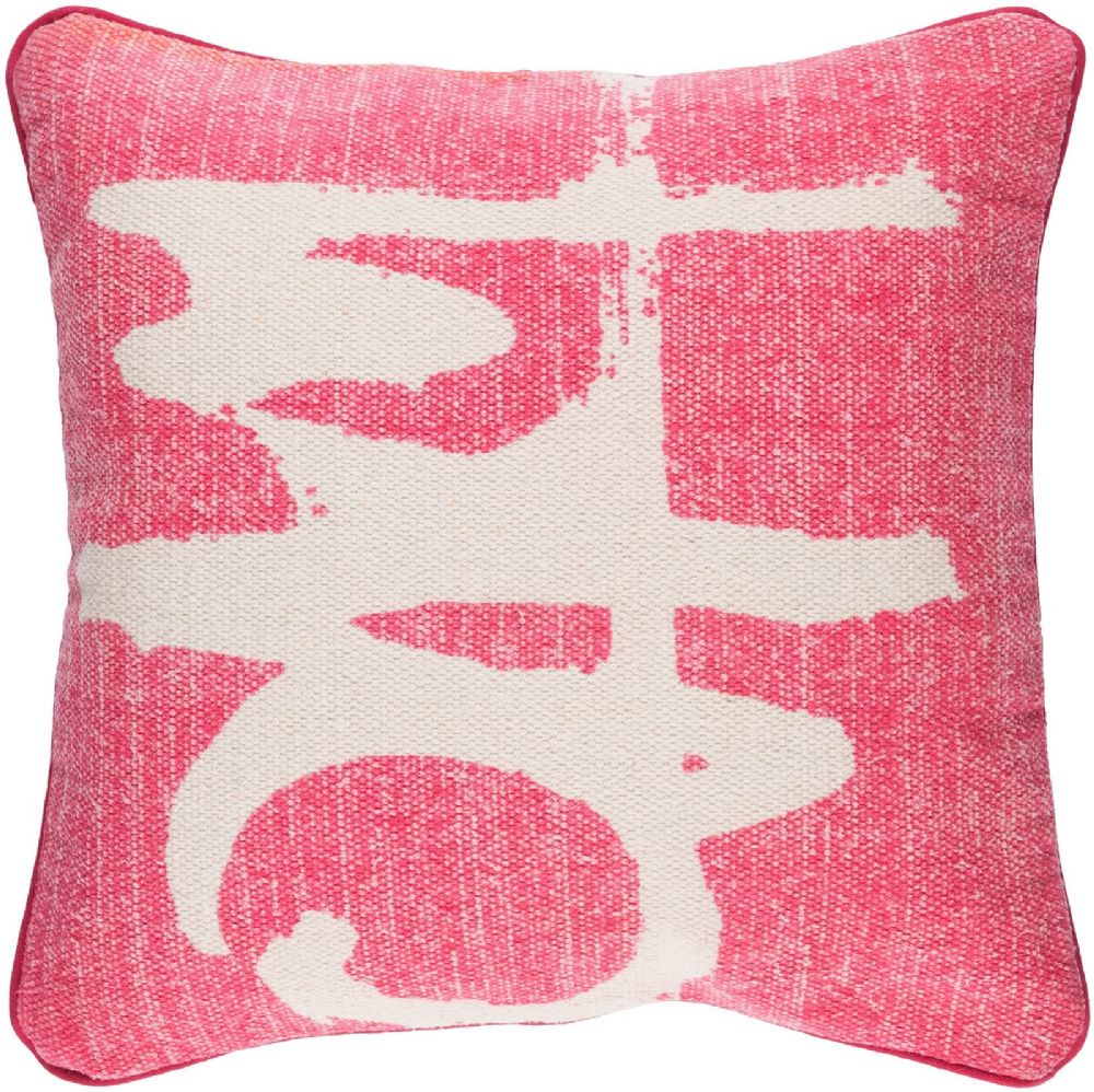 surya bristle contemporary decorative pillow collection