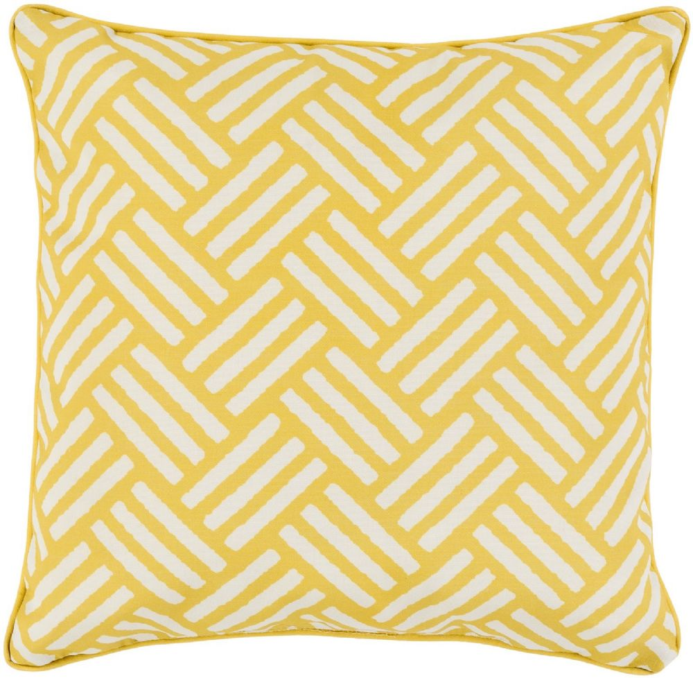 surya basketweave contemporary decorative pillow collection