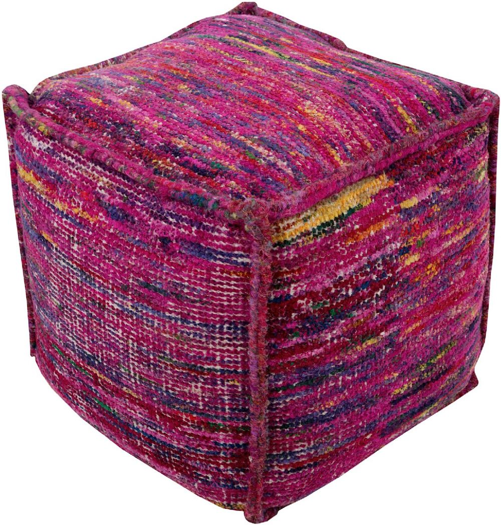 surya bazaar contemporary pouf/ottoman collection