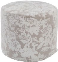 Surya Country & Floral Clara pouf/ottoman Collection