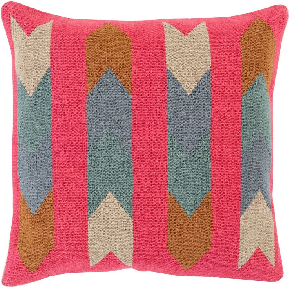 surya cotton kilim contemporary decorative pillow collection