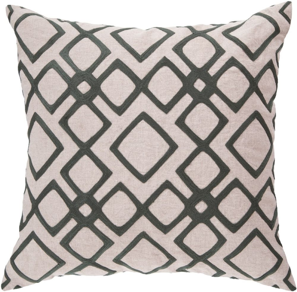 surya geo diamond contemporary decorative pillow collection