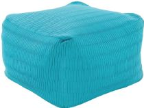 Surya Solid/Striped Caplin pouf/ottoman Collection