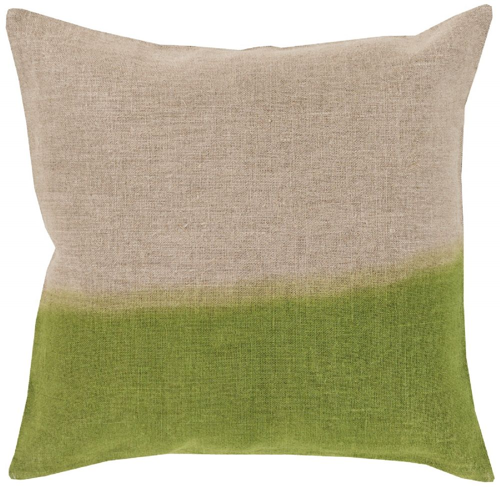 surya dip dyed contemporary decorative pillow collection