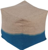 Surya Contemporary Dip Dyed pouf/ottoman Collection