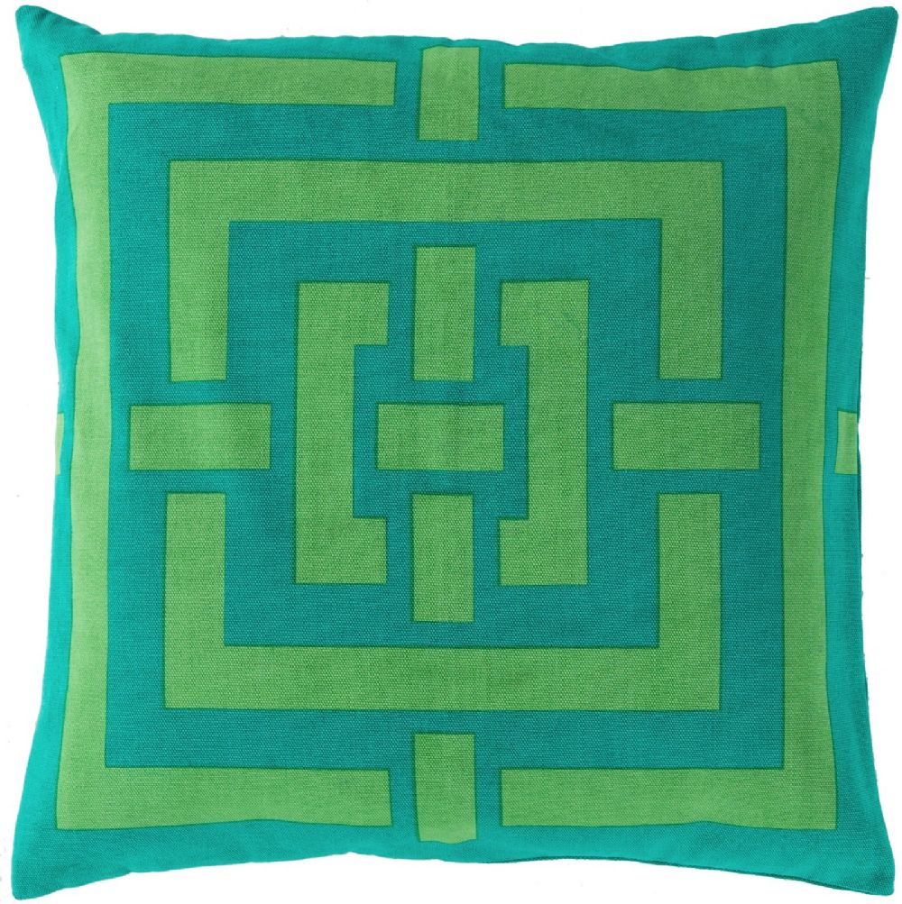 surya circles & squares contemporary decorative pillow collection