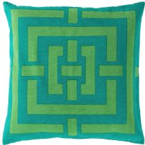 Surya Contemporary Circles & Squares pillow Collection