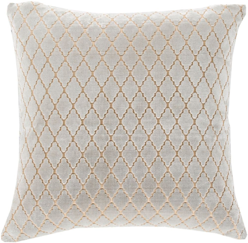 surya velvet antique lattice contemporary decorative pillow collection