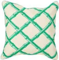 Surya Contemporary Bamboo Lattice pillow Collection