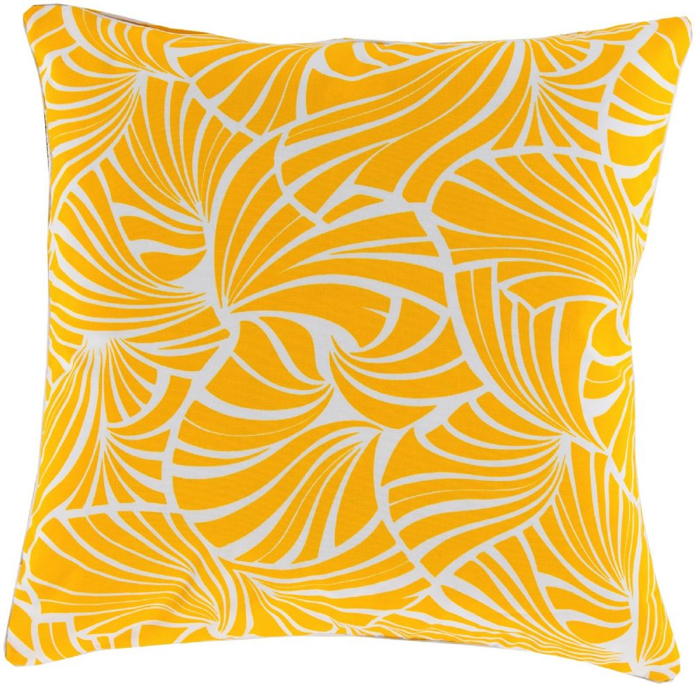 surya japanese fan contemporary decorative pillow collection