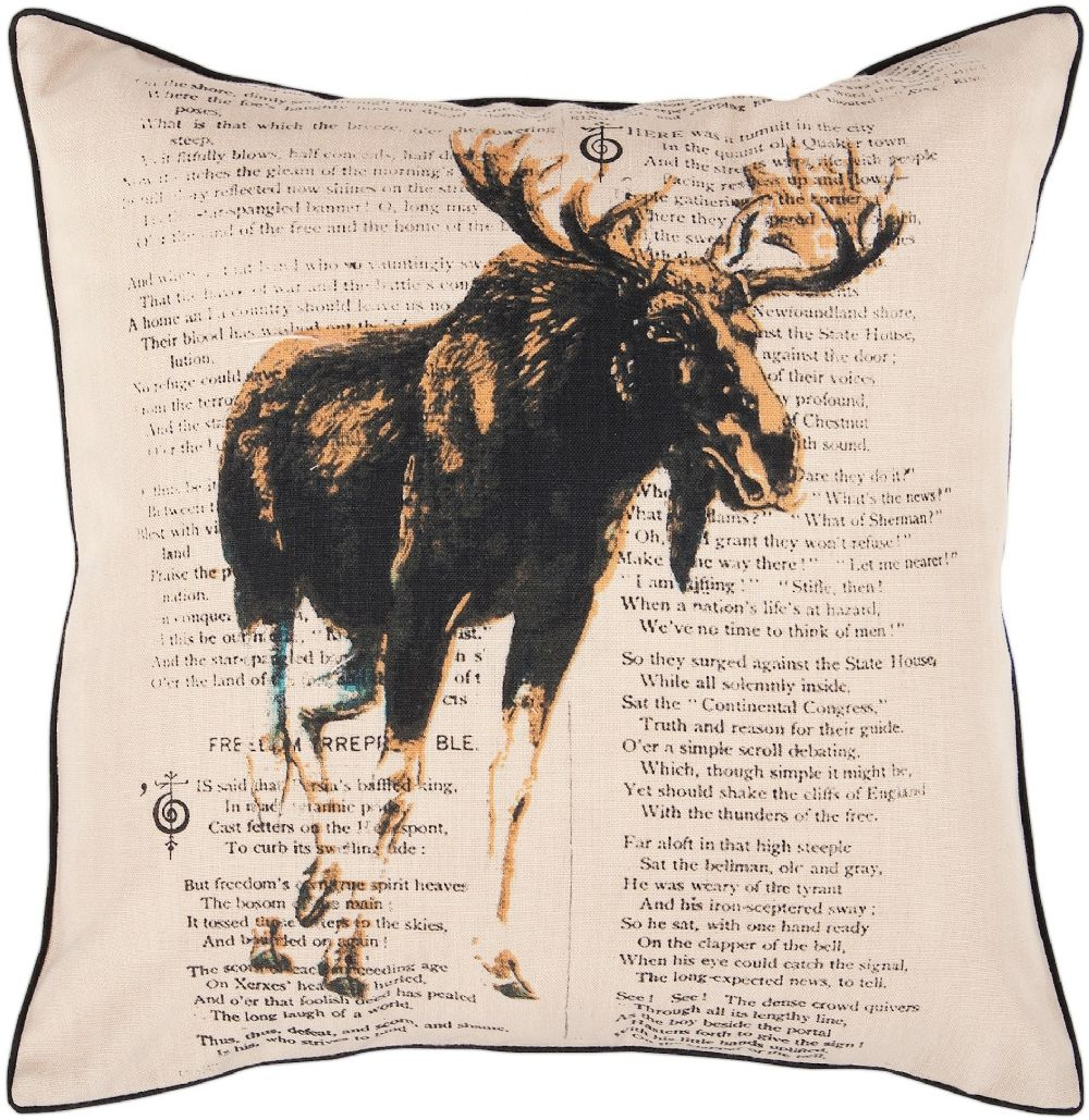 surya alaska animal inspirations decorative pillow collection