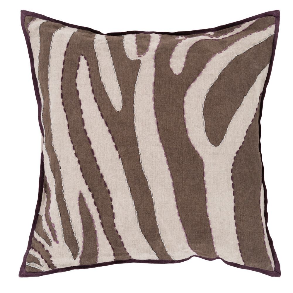 surya zebra animal inspirations decorative pillow collection