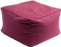 Surya Solid/Striped Piper pouf/ottoman Collection