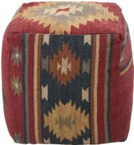 Surya Solid/Striped Surya Poufs pouf/ottoman Collection