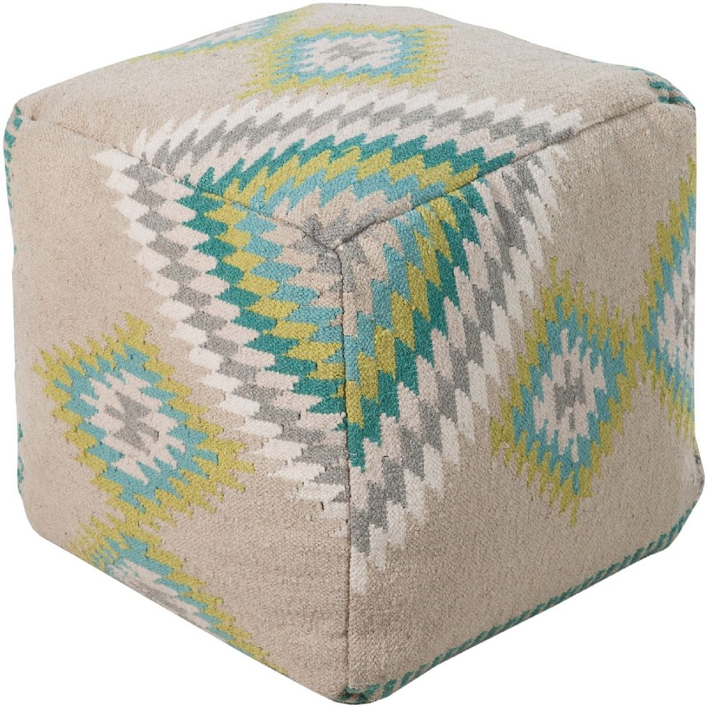 surya surya poufs southwestern/lodge pouf/ottoman collection
