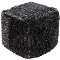 Surya Shag Surya Poufs pouf/ottoman Collection