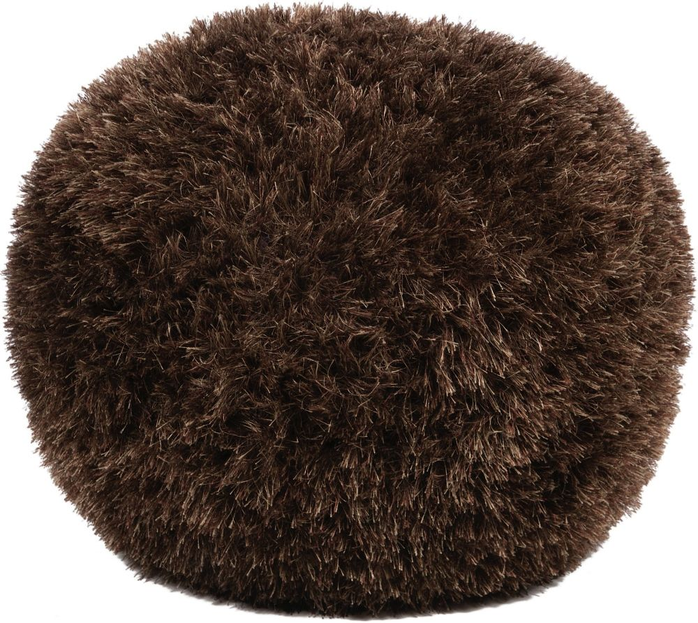 surya surya poufs shag pouf/ottoman collection
