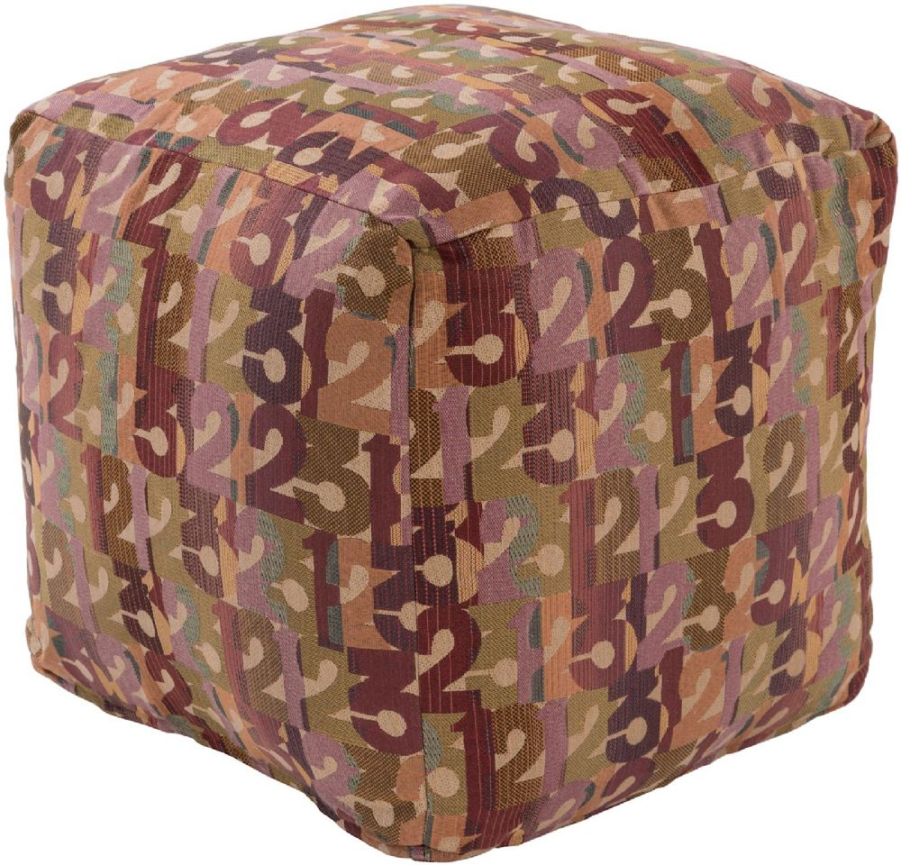 surya shoop shoop kids pouf/ottoman collection