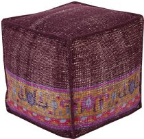 Surya Contemporary Zahara pouf/ottoman Collection
