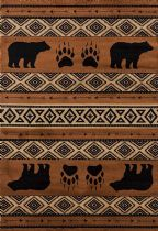United Weavers Southwestern/Lodge Woodside Area Rug Collection