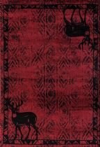 United Weavers Southwestern/Lodge Woodside Area Rug Collection