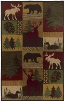 Runner Area Rug, Hand Tufted Rug, Lodge, Country, Rizzy Rugs Rug