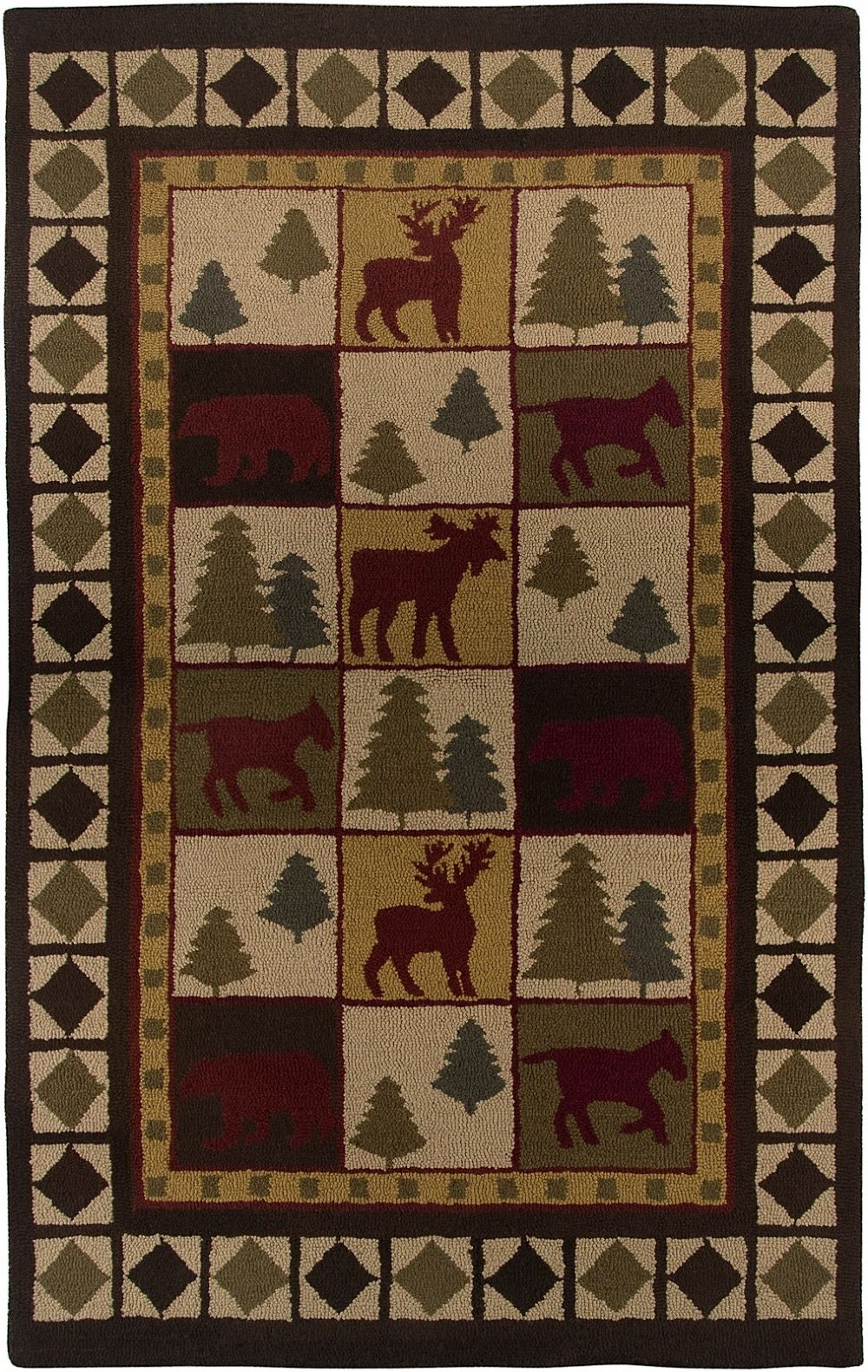 rizzy rugs country southwestern/lodge area rug collection