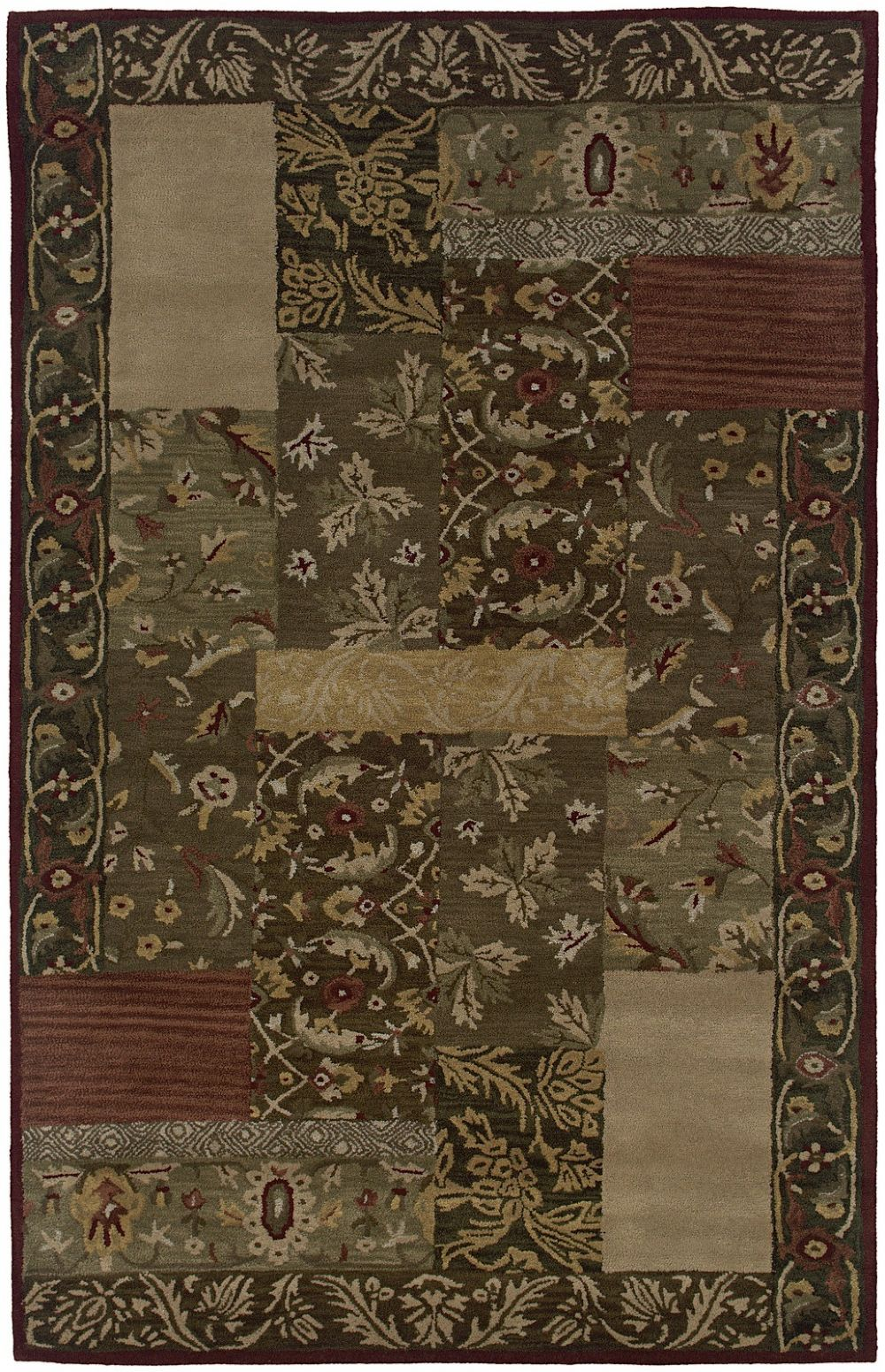 rizzy rugs floral transitional area rug collection