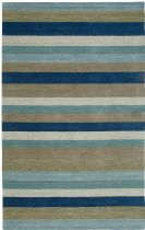 Rizzy Rugs Solid/Striped Platoon Area Rug Collection