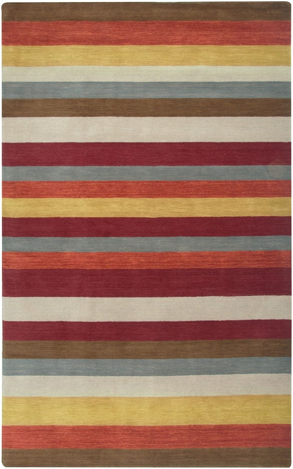 rizzy rugs platoon solid/striped area rug collection