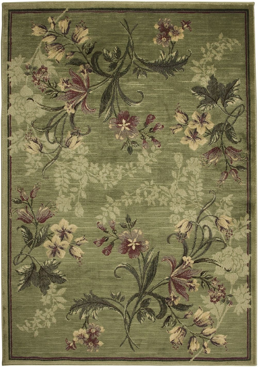rizzy rugs sorrento country & floral area rug collection