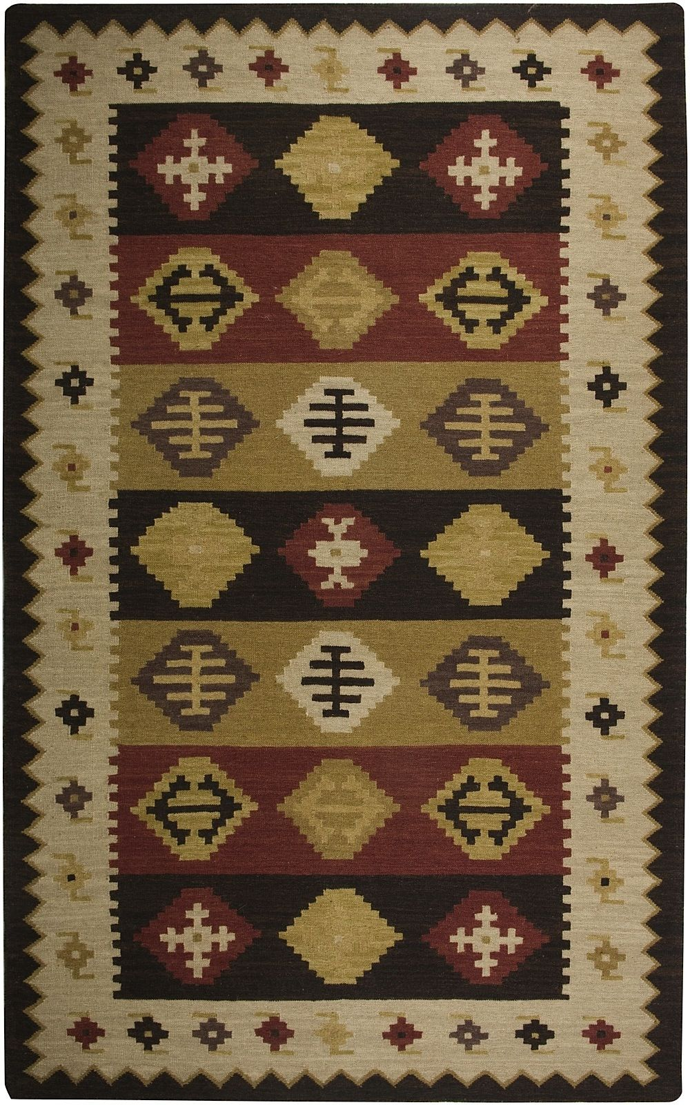 rizzy rugs swirl southwestern/lodge area rug collection