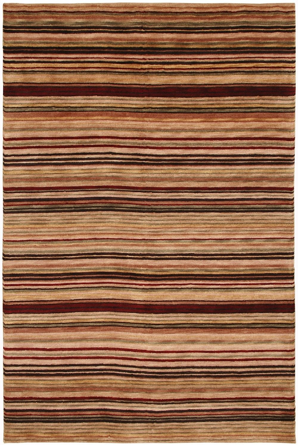 rizzy rugs tango solid/striped area rug collection
