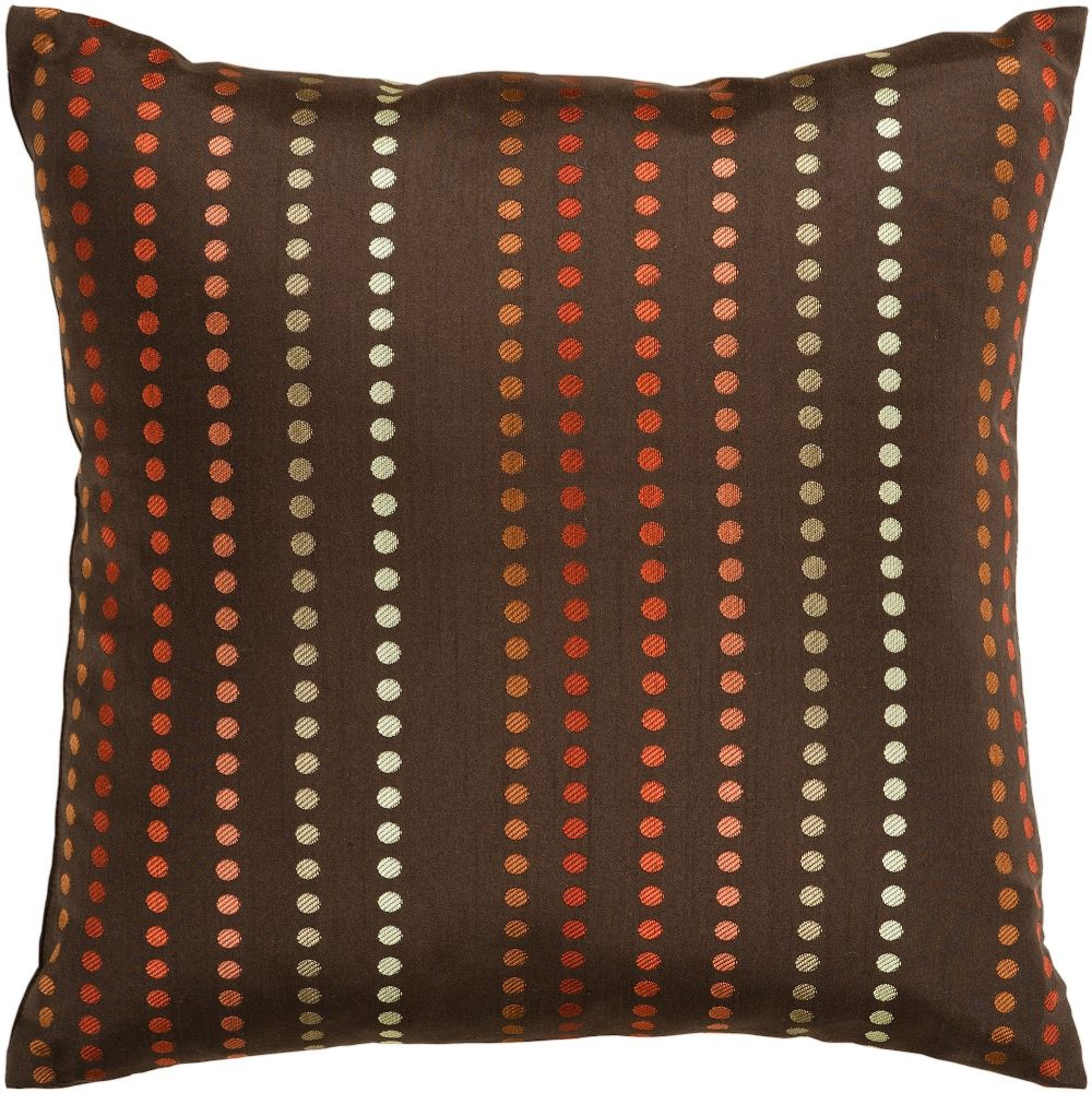 surya dots contemporary decorative pillow collection