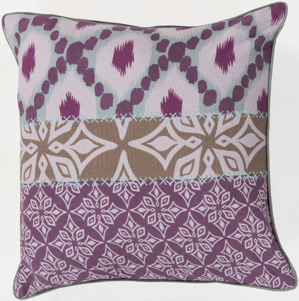 surya pattern mix contemporary decorative pillow collection