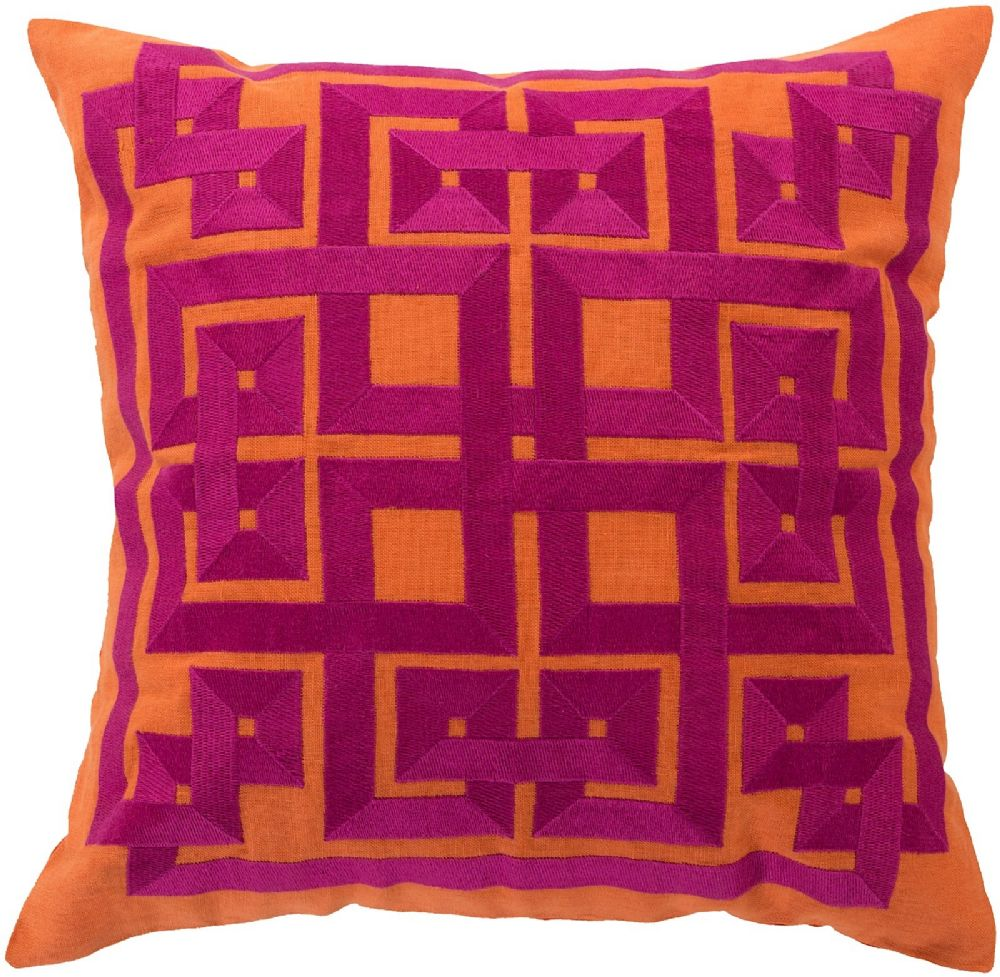 surya gramercy contemporary decorative pillow collection