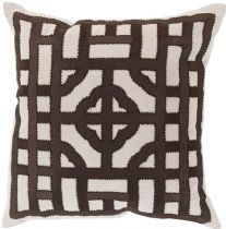 Surya Contemporary Chinese Gate pillow Collection