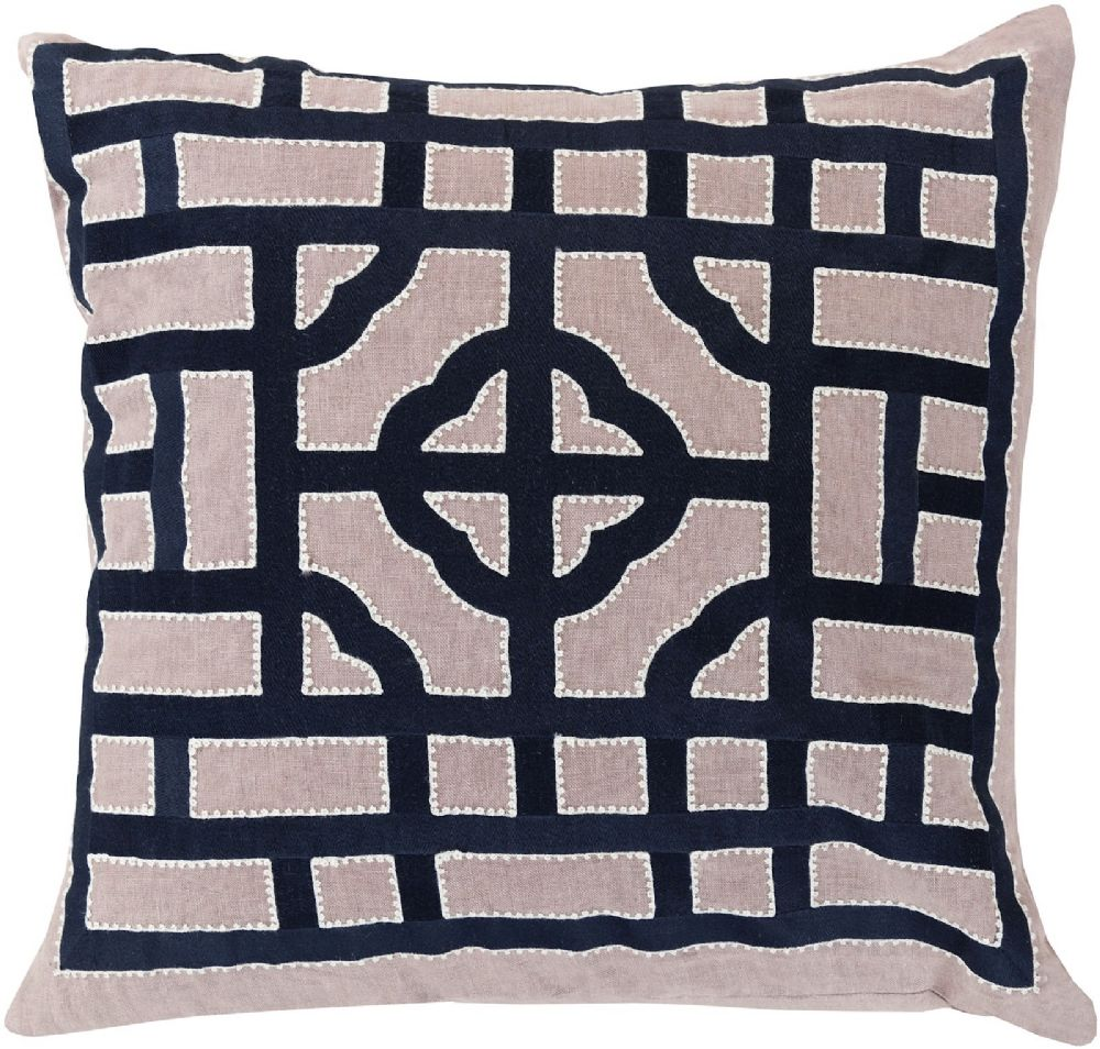 surya chinese gate contemporary decorative pillow collection