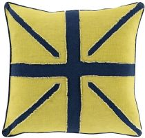 Surya Contemporary Linen Flag pillow Collection