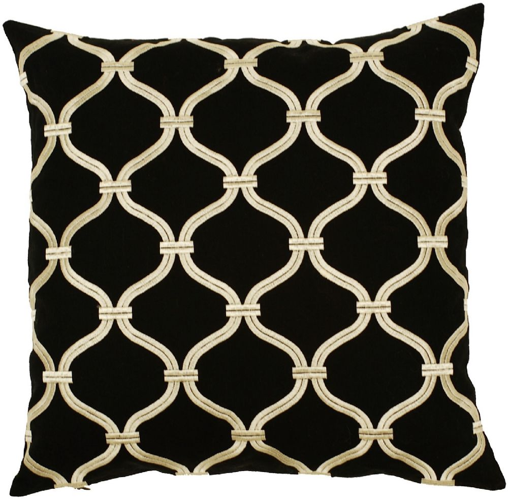 surya trellis contemporary decorative pillow collection