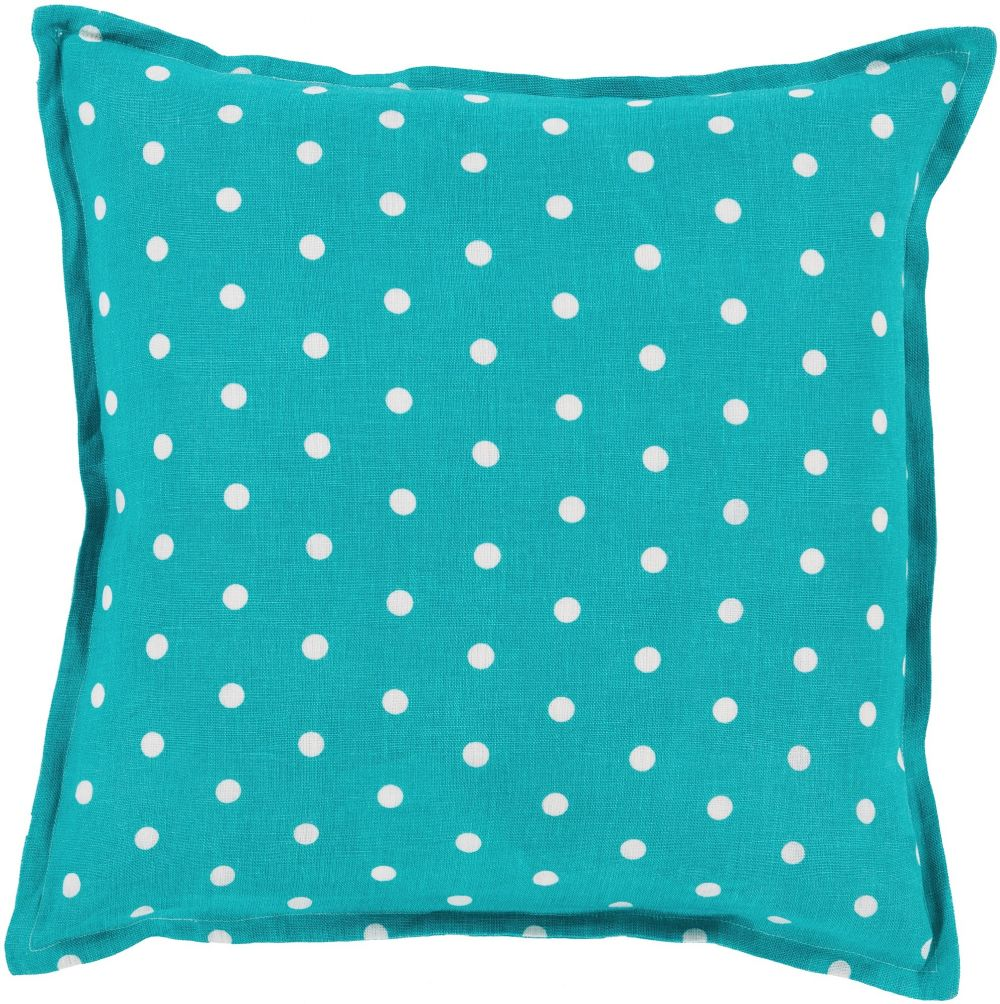 surya polka dot contemporary decorative pillow collection