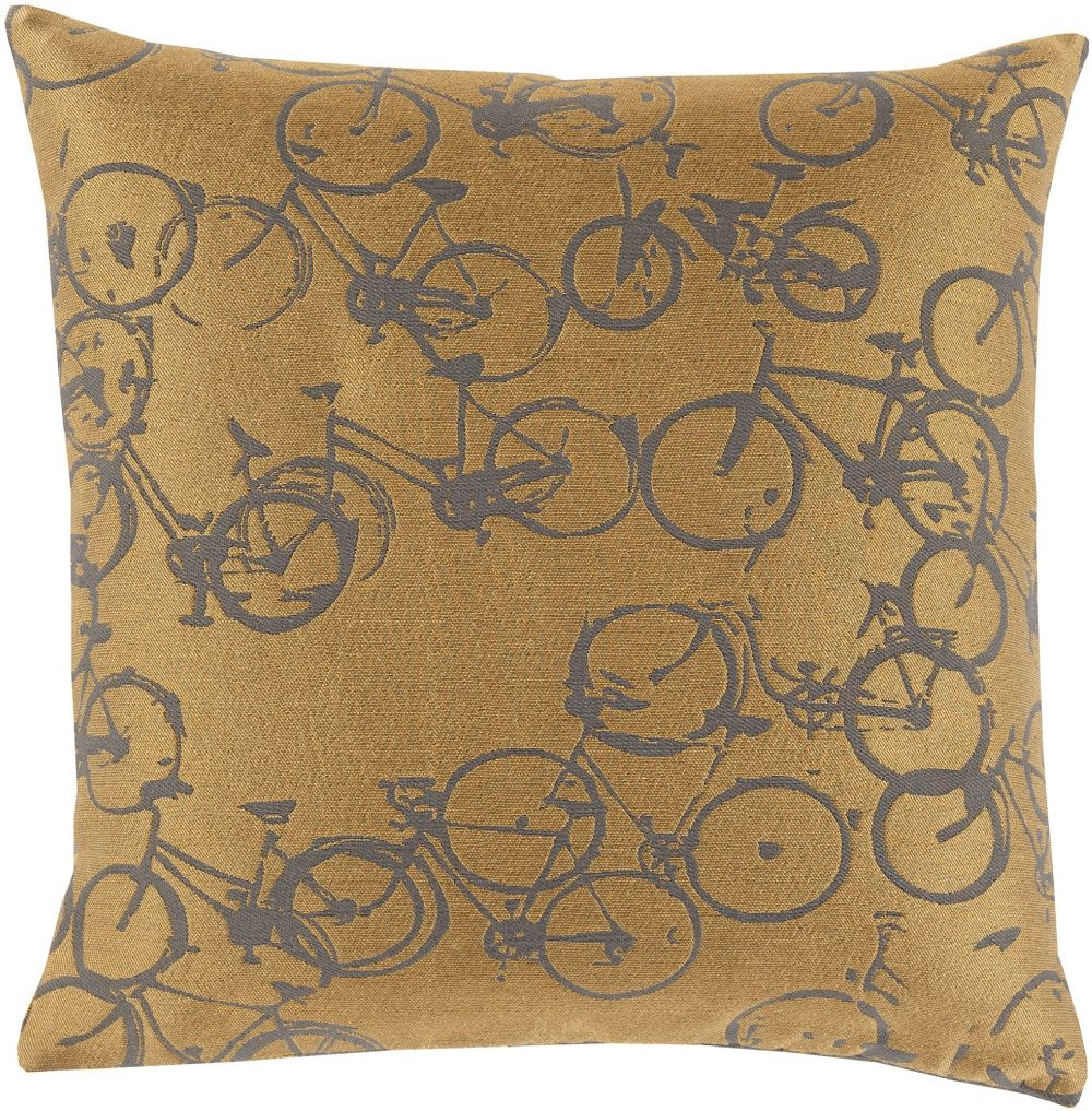 surya pedal power contemporary decorative pillow collection
